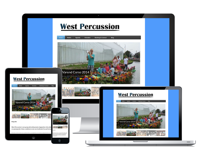 West Percussion portfolio