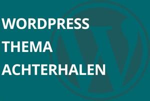 WordPress thema achterhalen
