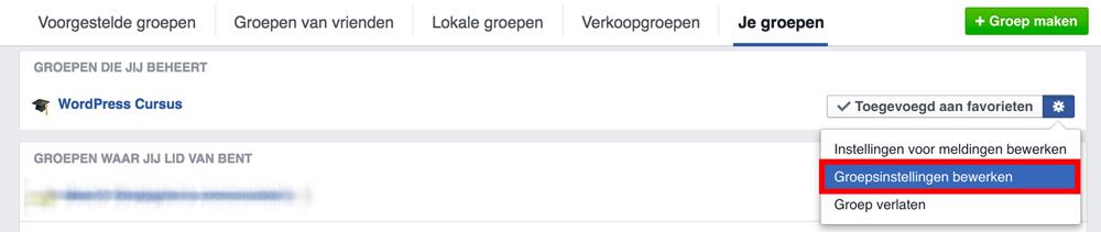 Facebook logo groep veranderen — 2