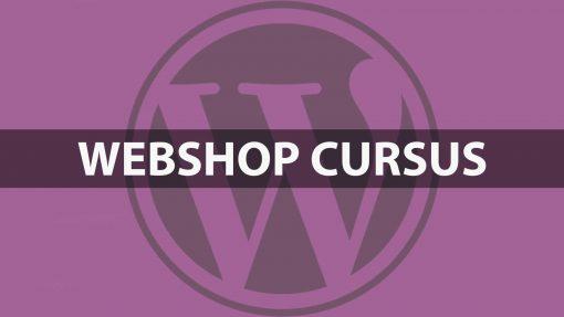 Webshop cursus