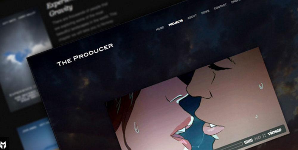 The Producer: Responsive Film Studio WP Theme