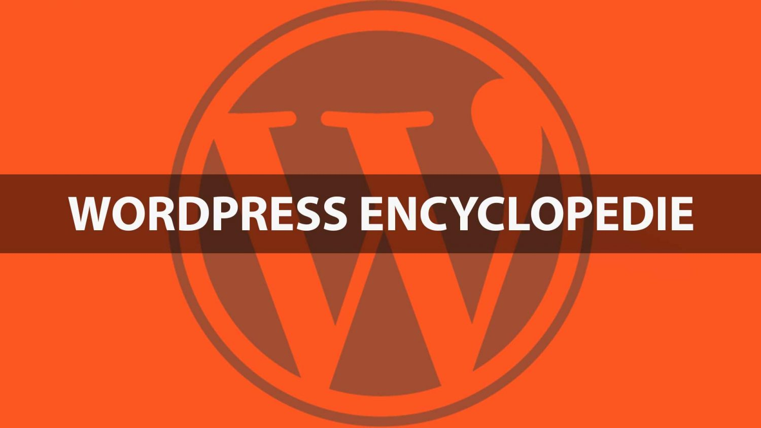 WordPress encyclopedie